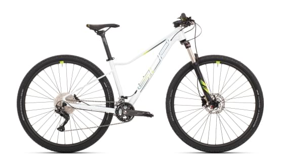 Horské kolo Superior XC 889 W Gloss White/Blue/Lime 2021
