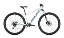 Dětské kolo Superior Racer XC 27 DB Gloss White/Petrol Blue/Neon Yellow 2021