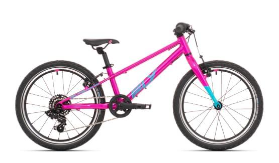 Dětské kolo Superior F.L.Y. 20 Gloss Purple/Neon Turquoise 2021