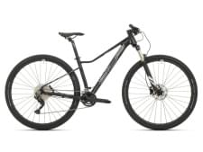 Horské kolo Superior XC 879 W Matte Black/Chrome Silver 2021