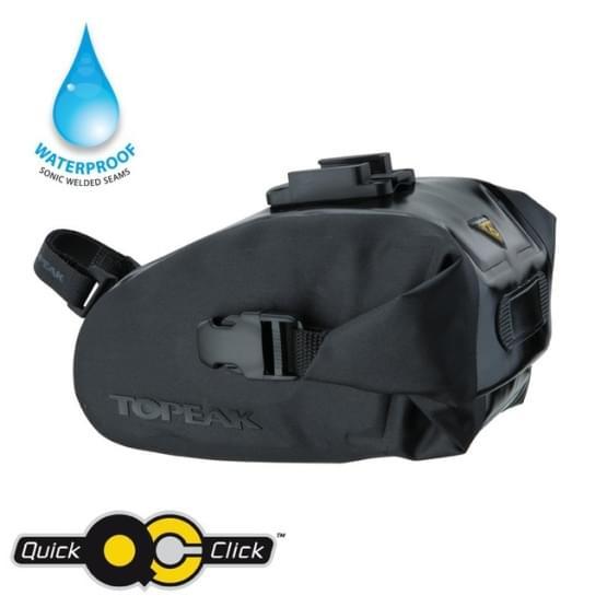 Brašna na nosič Topeak Wedge dry bag Medium černá