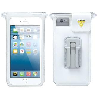 Obal na mobil Topeak Smartphone Dry bag pro IPHONE 6/6S plus, 7 plus, 8 plus bílý