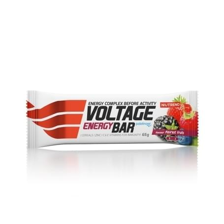 Nutrend Voltage energy bar 65g, lesní plody