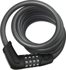 Zámek Abus 6512C/180/12BK black Tresor kod