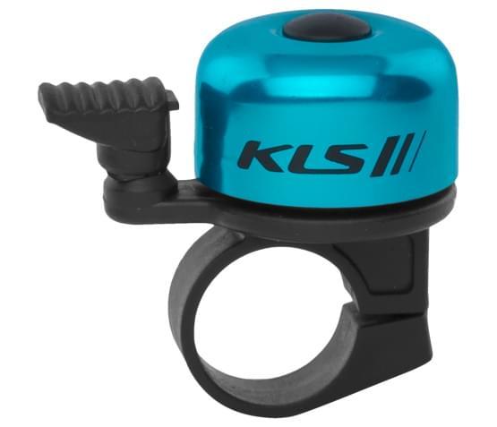 Cyklistický Zvonek KLS BANG 10 - modrý