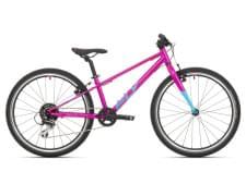 Dětské kolo Superior F.L.Y. 24 Gloss Purple/Neon Turquoise 2021