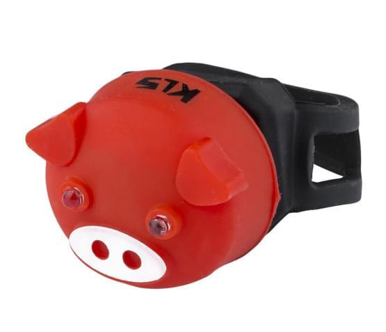 Osvětlení zadní KLS PIGGY, red