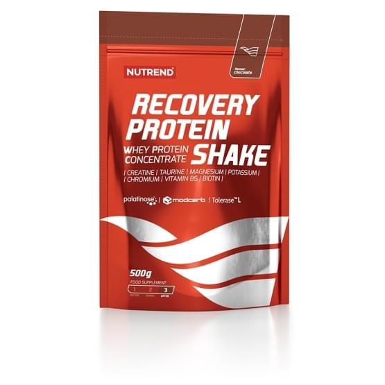 Nutrend recovery protein shake 500g čokoláda+kakao