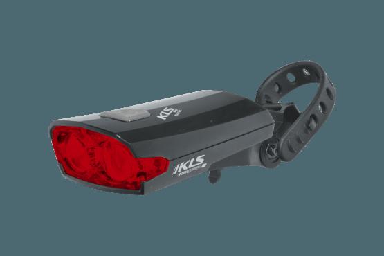 Osvětlení zadní dobjíjecí KLS Index 016 R black