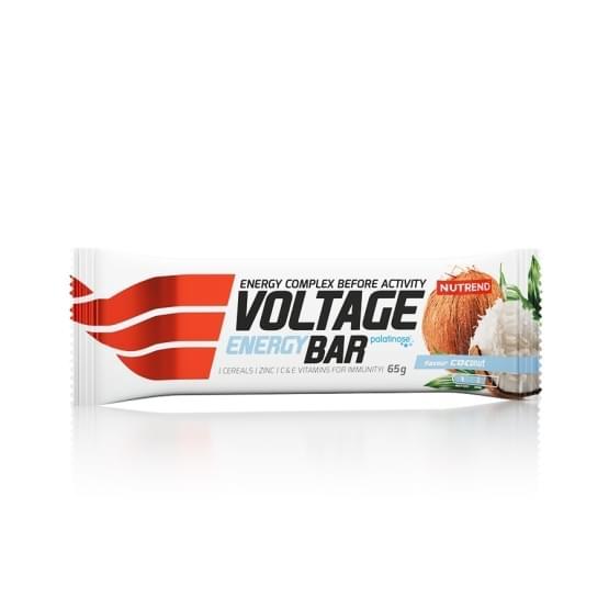 Nutrend Voltage energy bar 65g kokos