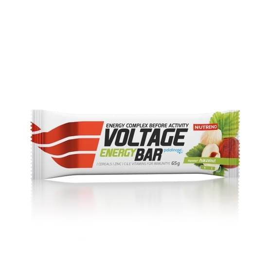 Nutrend Voltage energy bar 65g lískový oříšek
